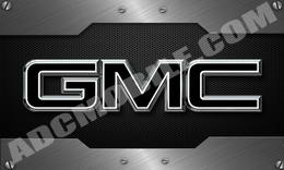 black_gmc_brushed_steel_screws