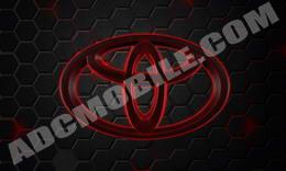 toyota_red_mesh_black_honeycomb