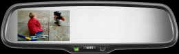 GENK-335S Autodimming Mirror Monitor w/Compass
