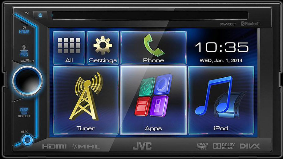 how to connect bluetooth in jvc kw xr816