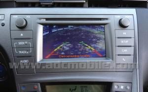 2013 Prius Camera Display
