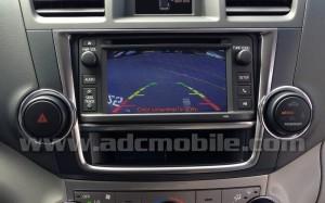 "2013 Highlander ""Display Audio"" radio"