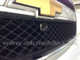 CAM-500 front-mounted on Chevrolet Tahoe