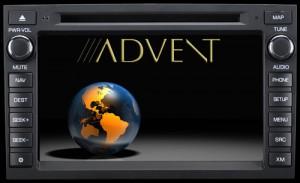 Stock Advent splash screen