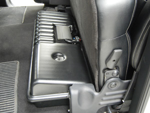 F150 Super Cab Subwoofer