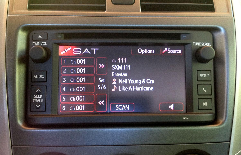 SL3SAT installed on 2013 Corolla
