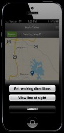 iPhone: Walking Direction Options