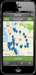 iPhone: Tracking Map