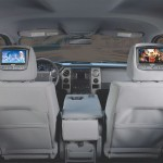 "Advent 8"" Dual DVD Headrest w/HDMI"