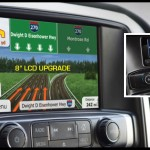 "4.3"" to 8"" Navigation upgrade for 2014-15 Chevrolet/GMC"