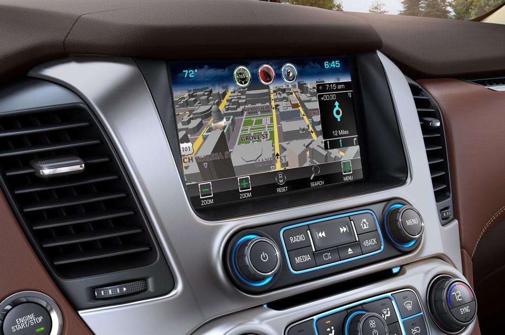 2015-Chevrolet-Suburban-Navigation