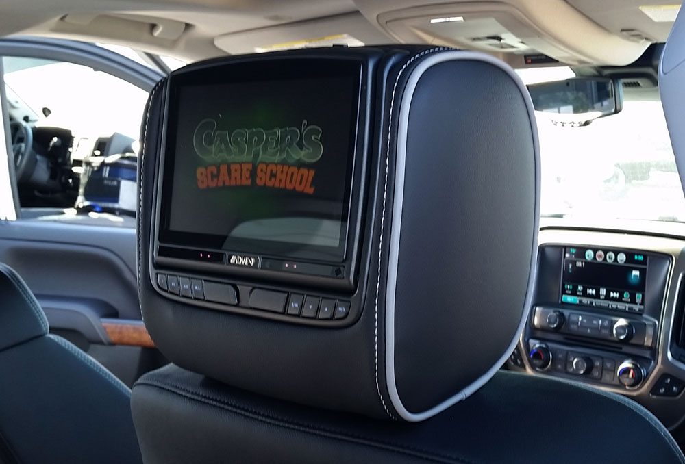 Advent 8″ Dual DVD Headrest System – ADC Mobile on