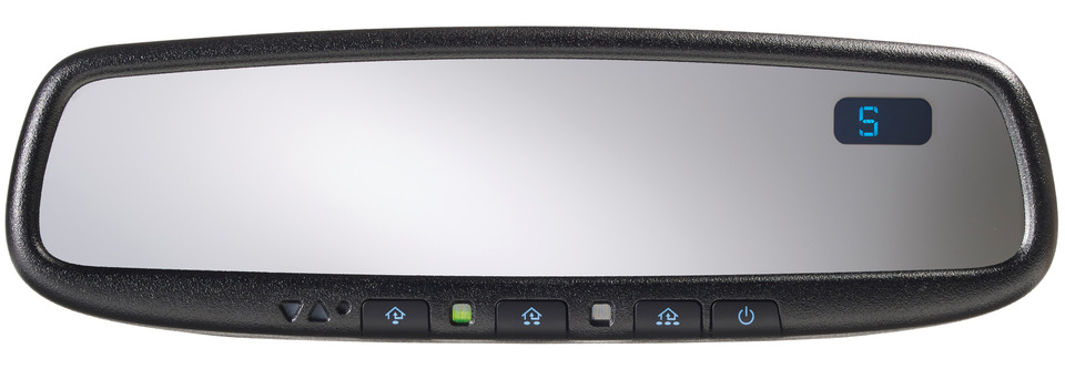 Autodimming Mirror W Compass Amp Homelink 5 Adc Mobile