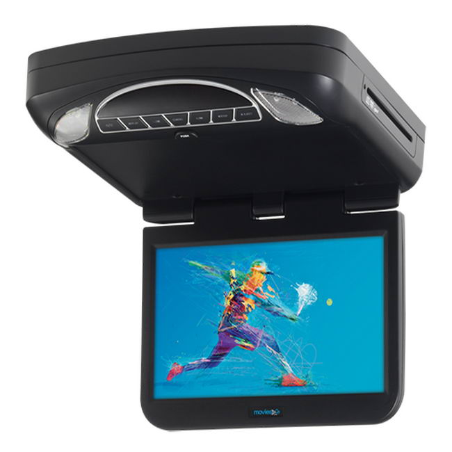 Movies To Go 10 Overhead Dvd Monitor Adc Mobile