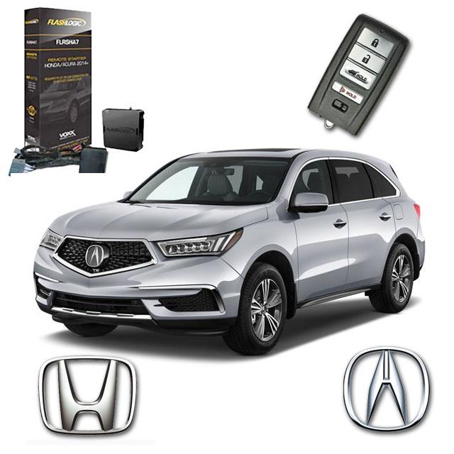 HondaAcura Keyless Upgrade Remote Start System FLRSHA ADC Mobile - Acura mdx remote start