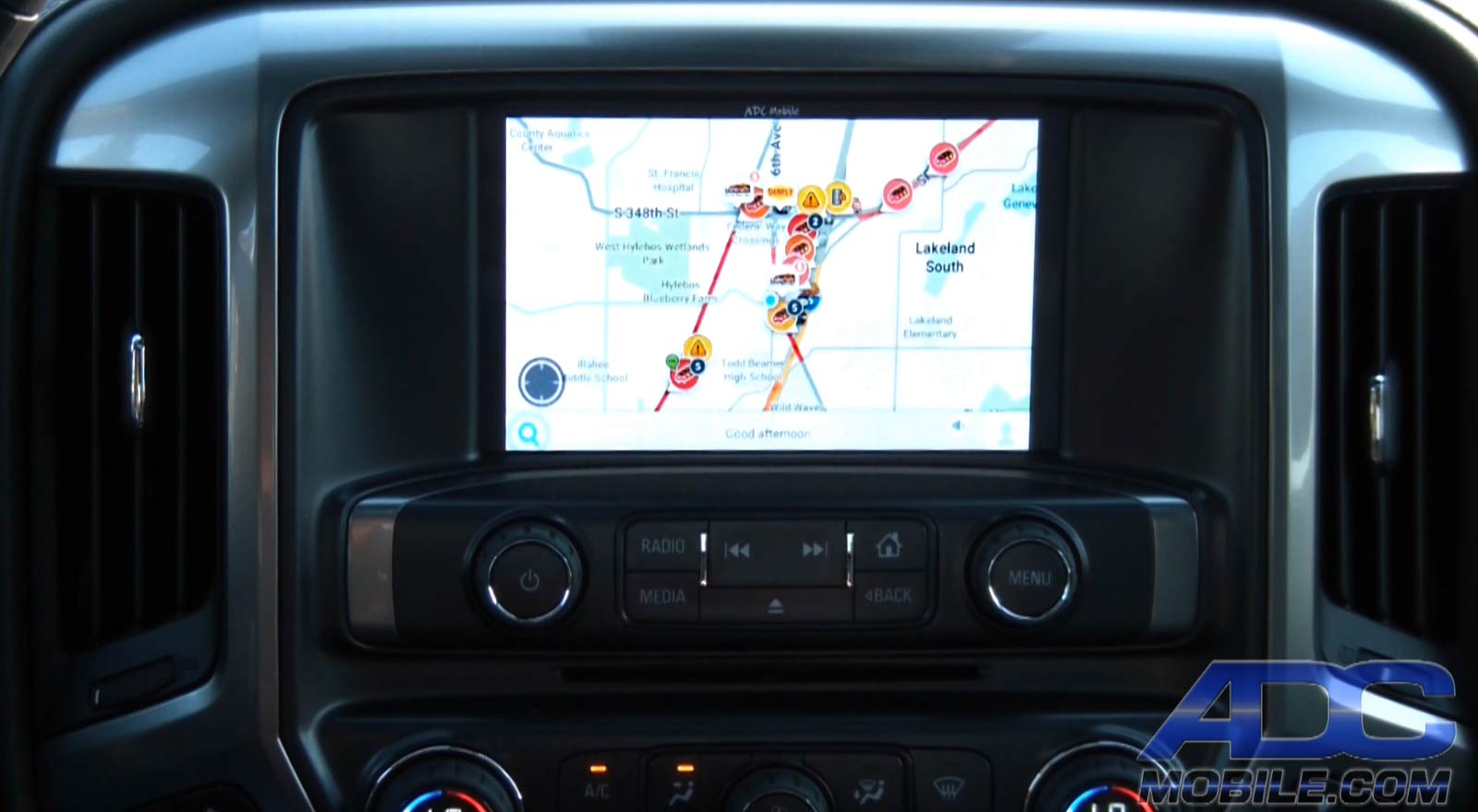 multi camera interface for chevrolet vehicles adc mobile. Black Bedroom Furniture Sets. Home Design Ideas