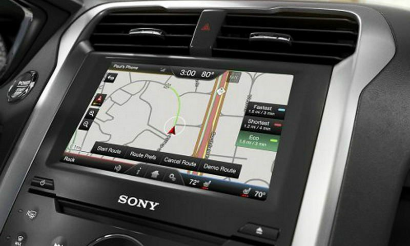 Ford/Lincoln My Touch SYNC2 Navigation Upgrade