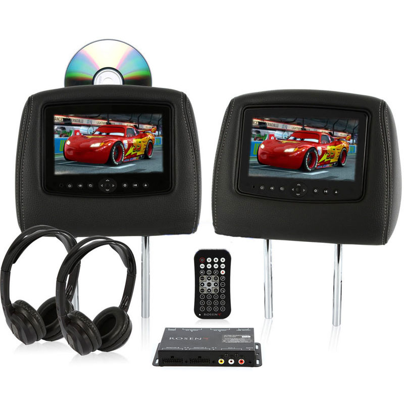 Car Show 7″ Single DVD Headrest System – ADC Mobile Rosen Headrest Monitor Wiring Diagram on rear view camera wiring diagram, 4 channel amplifier wiring diagram, cctv cameras wiring diagram, speakers wiring diagram, amp wiring diagram, sub woofers wiring diagram, home wiring diagram, dvd wiring diagram,