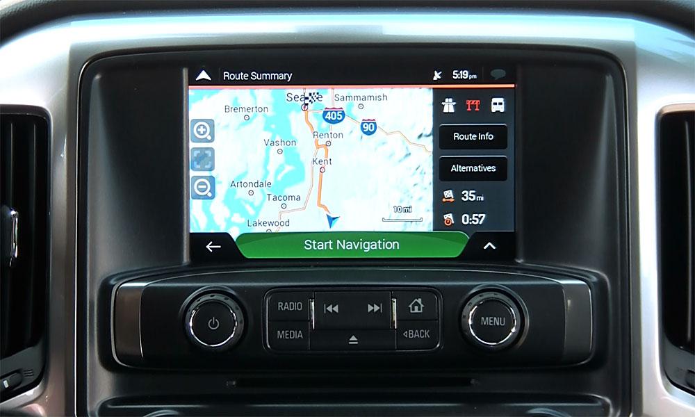 Navigation upgrade for 2014-17 GM Vehicles