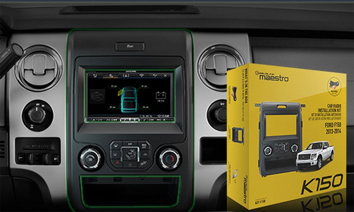 2013 14 Ford F 150 Replacement Radio Kit