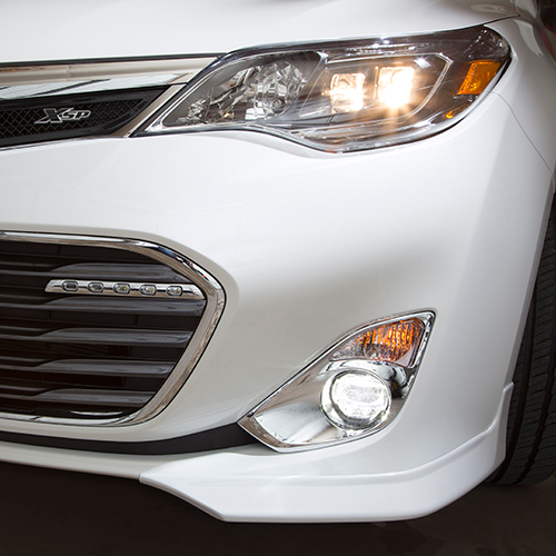 Toyota LED Fog Light Upgrade