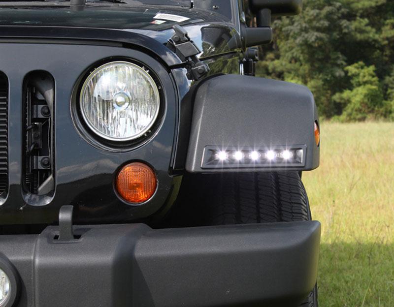 2007 17 Jeep Wrangler Led Daytime Running Light Kit Adc