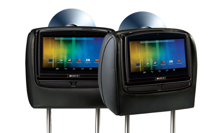 Advent 8 Dual Dvd Headrest System W Android Adc Mobile
