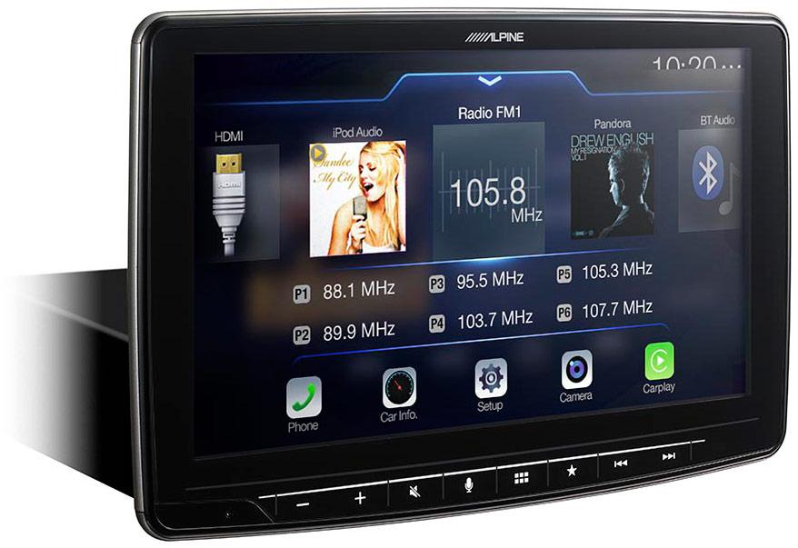 Alpine Halo Ilx F309 Multimedia Receiver Adc Mobile