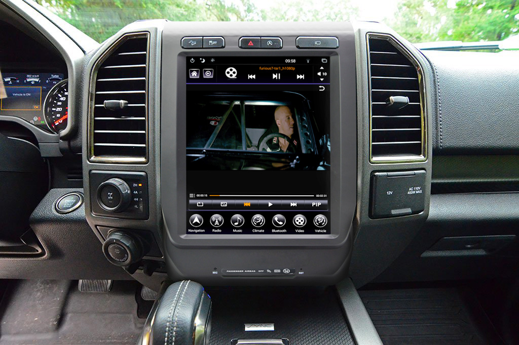 Gen Ii T Style Radio For 2015 19 Ford F Series Adc Mobile