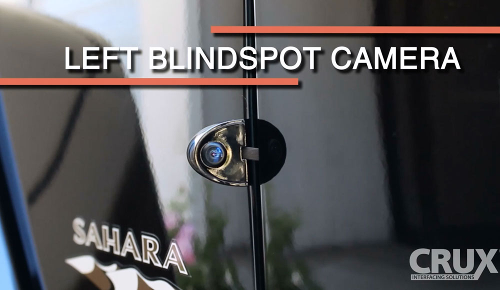 Multi Camera A V Interface For Jeep Wrangler Adc Mobile
