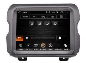 Uconnect Access App >> 2018-2019 Jeep Wrangler JL 8.4″ Android Tablet Radio ...